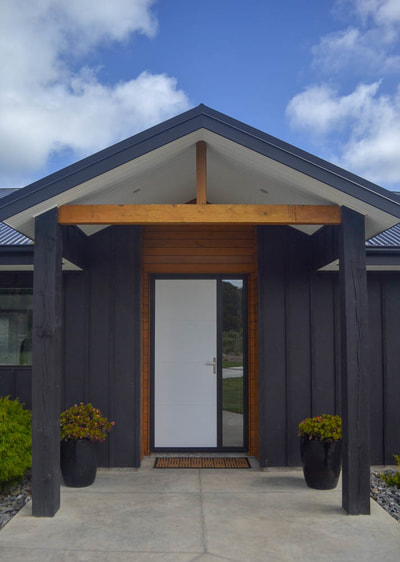 Entrance feilding home